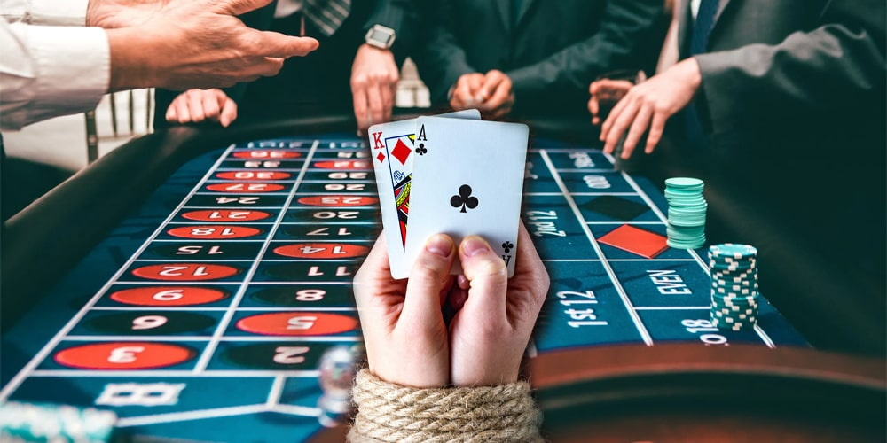 Responsible play in an online casino